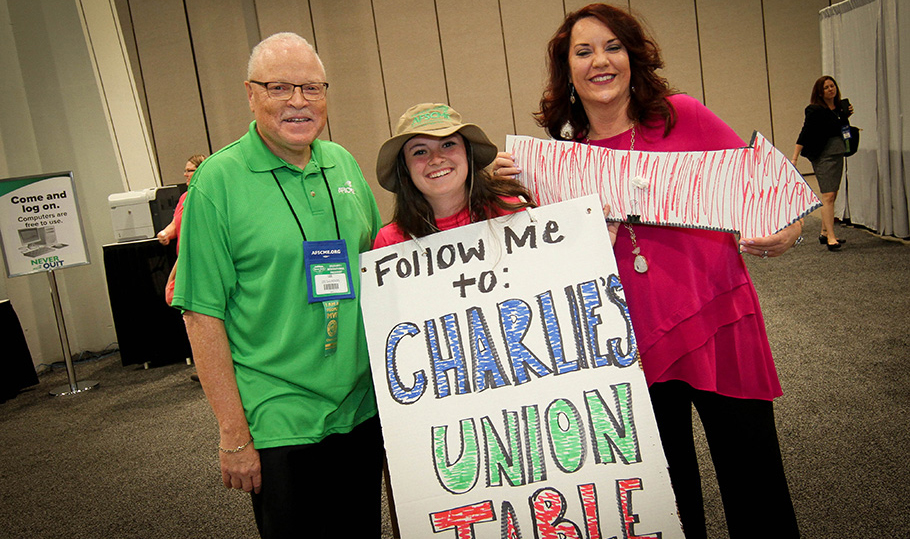 Follow me to Charlie's Union Table