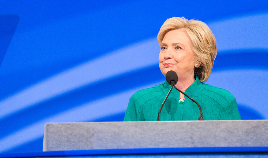 Hillary Clinton speaks at Convention