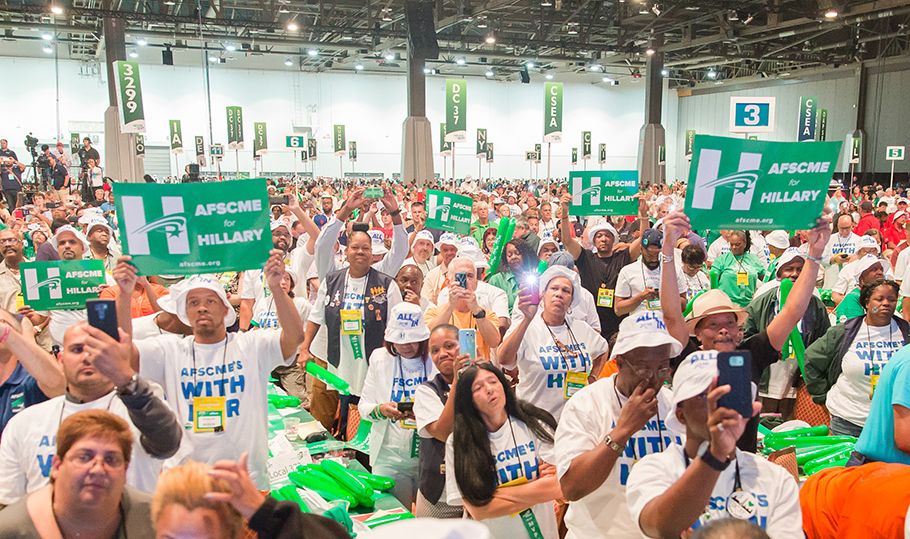 AFSCME For Hillary